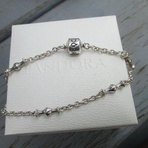 Pandora Jewelry - Pandora   Capture 5 Clip Station Bracelet 8.5